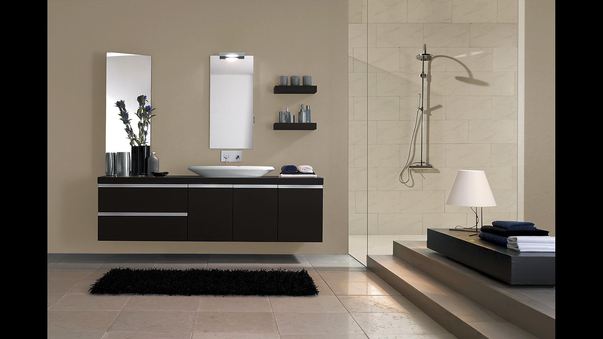 Idee Arredo Bagno In Muratura.Bagno In Muratura Moderno Simple Lavabo Bagno Muratura Moderno